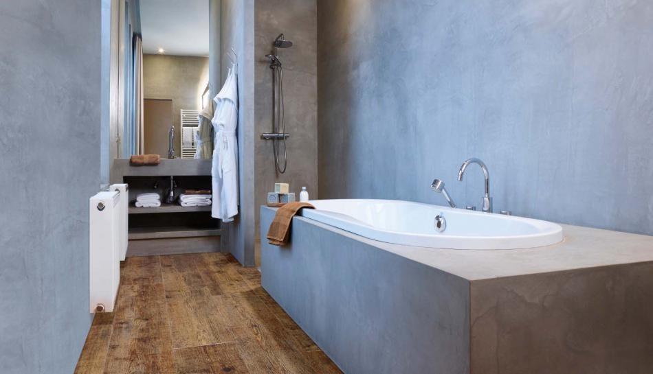 PVC met houteffecten, ook voor in de badkamer - IBS - Industrie- en ...